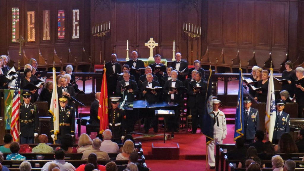 The Raincross Master Chorale in concert.